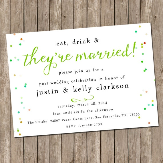 wedding brunch invitation bridesmaids luncheon invitation