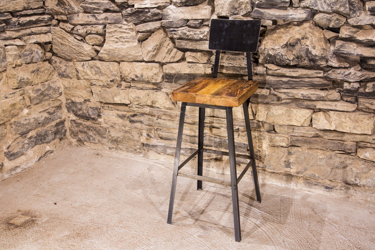FREE SHIPPING Brew Haus Industrial Style Bar Stools with