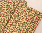Holiday/ Christmas hand made cotton napkins set of 6 Ready to ship!