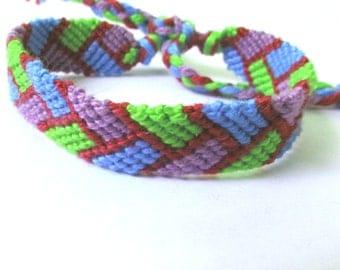Friendship Bracelet-Braided Brights
