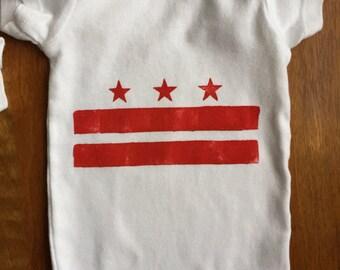 D.C. Flag Onesie