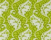 Featherleaf in Green for the Lottie Da Collection by Heather Bailey