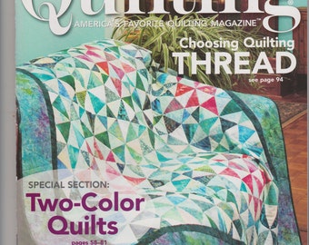 Quilting, Instruction Magazine, Pattern, 2008 Fons and Porter, Uncut Pattern, Quilting, Easter Bunny Applique, Kaleidoscope, Home and Living