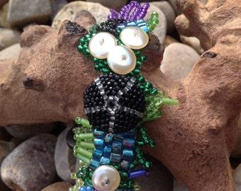 Black Sea Urchin Bracelet
