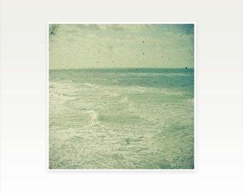 Ocean Art, Nature Photography, Beach Photography, Seaside Art, Beach House Decor, Minimalist - Stormy Sea