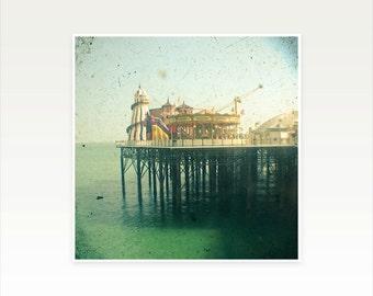 Beach Photography, Seaside Decor - The Pier