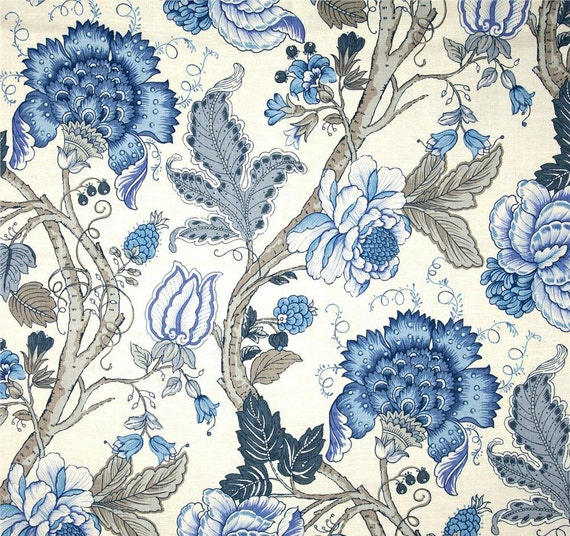 Like This Item?  Blue Floral Curtains