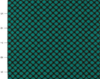 Michael Miller Fabrics Cora in Teal 1/2 Yard