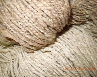 5 oz. 100% Natural Merino Moorit, Navajo Ply Yarn