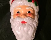 Empire Ind. Inc Blow Mold Santa Head Tree Light Topper Light Cover