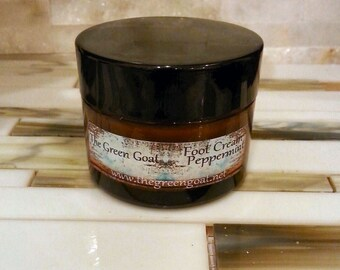 Peppermint Foot Cream