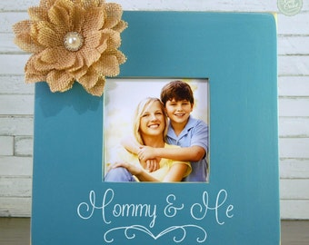 Mother and Daughter, Mother and Son Picture Frame - by Rusty Cricket