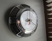 1968-69 Chevy Biscayne Hubcap Clock no.2140