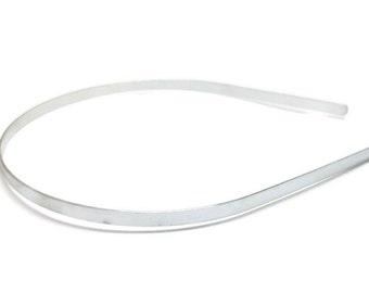12 Metal Headband Blanks - 5mm (3/16 inch)