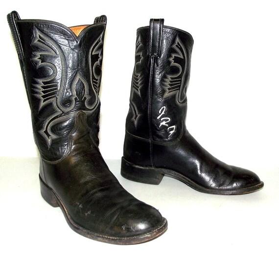 vintage custom made mingo black leather by honeyblossomstudio