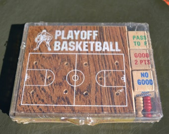Vintage Playoff Basketball Game