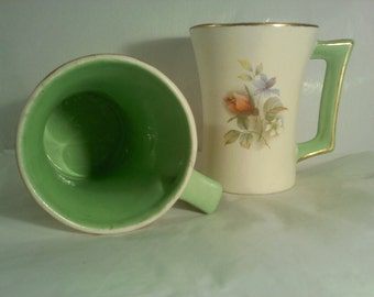 FREE SHIPPING vintage coffee cups (Vault 11)