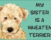 Wheaten Terrier Bodysuit or Toddler Tee
