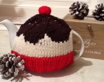 Sale Cupcake tea cosy for a small 2 cup pot - made and ready to ship