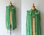 Chevalier silk velvet cape | 1920s cape • vintage 1920s velvet cape