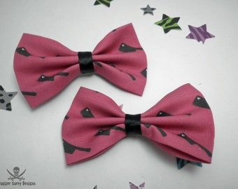 Meat Cleavers of Love Hair Bow Set