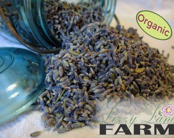 Crafting French Lavender Buds. 1/4lb (4 ounces) Blue Lavender Buds for Weddings, Dream Pillows, Sachets, FREE SHIPPING