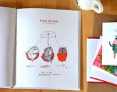 The Dancing Cat Book- Enjoy the Ride- Cat Gift- Collectors Edition
