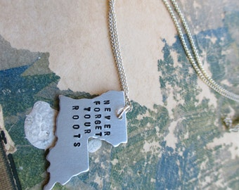 The Katherine Necklace - Louisiana Love Pendant Necklace or Key Chain