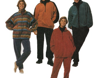 Unisex Adult Sportswear Sewing Pattern - McCalls 7409 - Running Gear Sewing Pattern - Uncut, FF