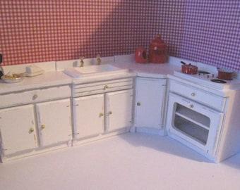 Zubehör Für Die Küche, Zwölften Skala. Handgemalte Küche,