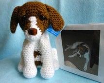 Custom Crochet Dog Made to Look Like Owner's Dog, Canine, Pet,Stuffed Animal, Stuffed Dog, Custom Dog, Look Like Pet, Pet Memorial