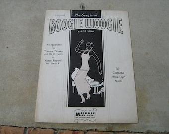 1947  sheet music (  boogie woogie )