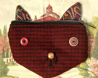 SALE 50% OFF foxface purse