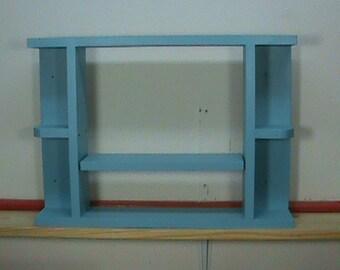 Adjustable Wooden Shelf - Display Shelf  - Painted Shelf - Wall Shelf - Wall Art Décor - Home Décor