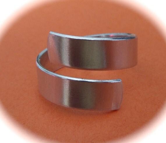 "30 Wrap Kit You CHOOSE 14 Gauge Food Safe Aluminum (12 - Wrap 3"") (12 - XL Wrap 3-1/4"") (6 - 2XL Wrap 3-1/2"") - Total 30 Flat Ring Blanks"