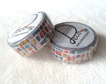 naturalpermanent Washi Masking Tape - Town
