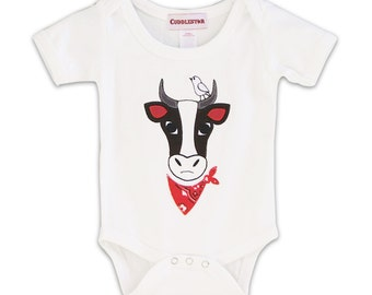 Buck  the Bull Infant Romper