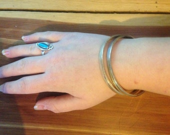 Two a Silver Bangles