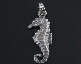 Vintage Sterling Silver Seahorse Charm