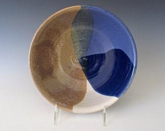 Sale: Large Serving Bowl. Stoneware. Sand and Sky. Snow White. Stonewashed Denim. Blue Gray. Pewter.