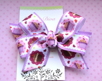 Fancy Cupcakes Classic Diva Bow
