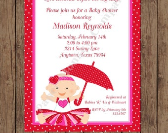 Valentines Baby Shower Invitations ...1.00 each with envelope