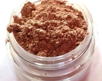 "Peach Shimmer Eye Shadow - ""Cinnamon Sugar"" - Mineral Makeup - Eyeshadow"