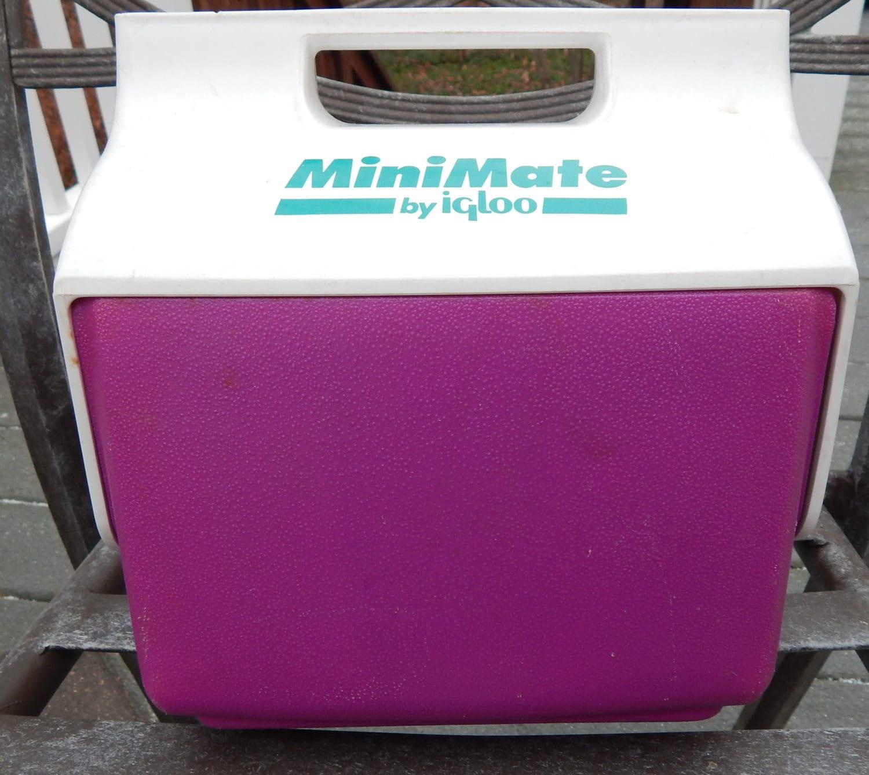 Vintage mini mate by igloo cooler purple by siredmondsvintage - Igloo vintage ...