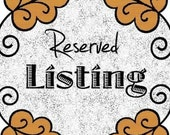 Reserved Listing for Meredith