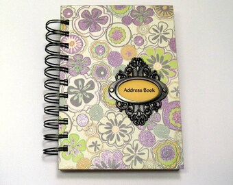 Address Book - Happy Flowers