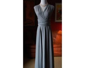 USA Maxi dress, bridesmaids dress   Convertible dress  infinity dress