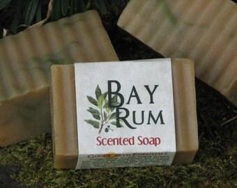 BAY RUM - aromatic Bath Soap - Shaving Soap