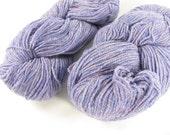 deSTASH | Philosophers Wool Co Light Purple Heather 100% wool knitting yarn