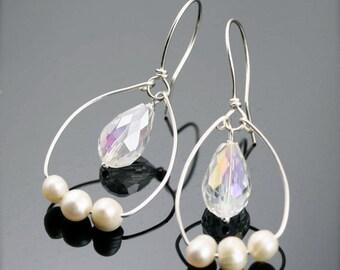 Eden loop earrings